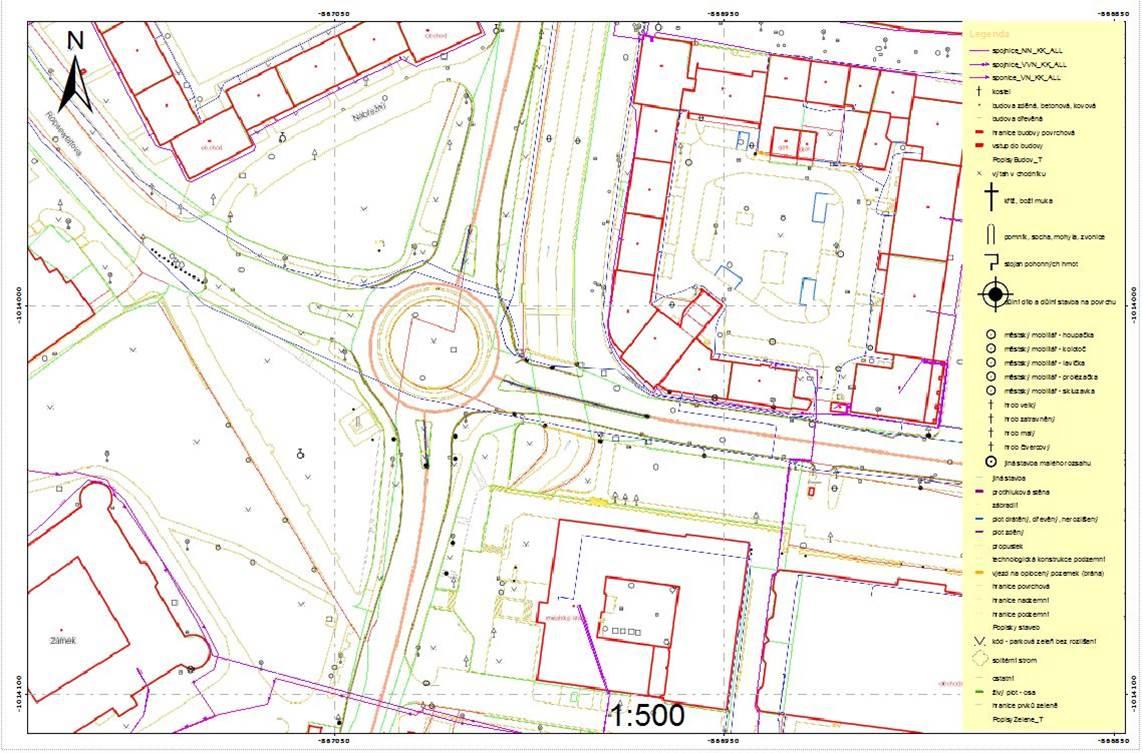 Kompozice digitální technická mapa jako součást DMVS pro Karlovarský kraj.
